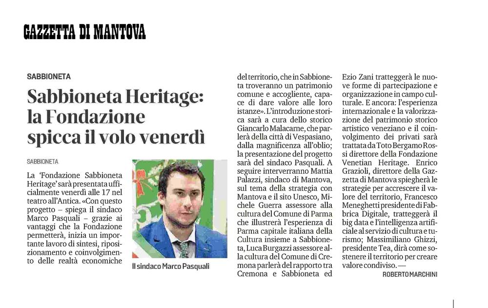 Fondazione Sabbioneta Heritage_Gazzetta di Mantova_5-10-2021.jpg