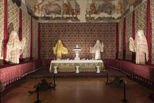 Banchetto del Principe, Sala degli Elefanti, Mostra Rinascimento Sabbionetano, Sabbioneta