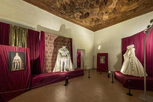Vincenzo ed Eleonora Gonzaga, Sala degli Ottagoni, Mostra Rinascimento Sabbionetano, Sabbioneta