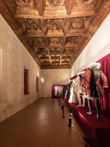 Matrimonio di Vincenzo ed Eleonora Gonzaga, Sala dei Grappoli, Rinascimento Sabbionetano, Sabbioneta